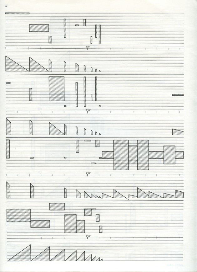 Study for One Cymbal Stroke